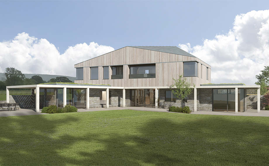 CaSA-New House-Gloucestershire-Exterior Rear-LAND.jpg