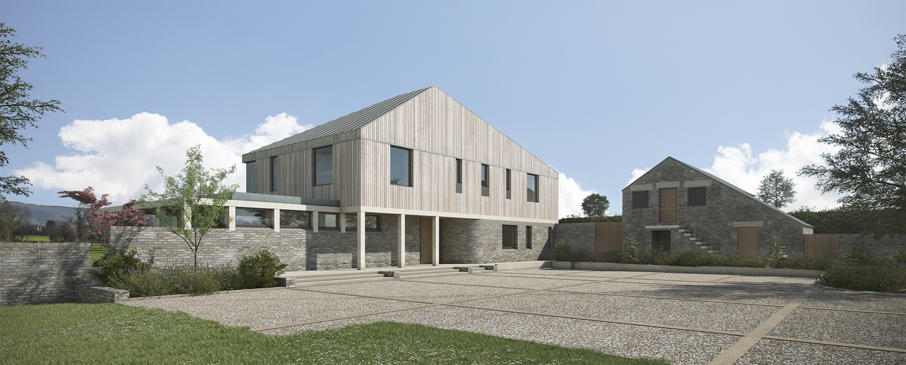 CaSA-New House-Gloucestershire-Exterior Front-BAN.jpg