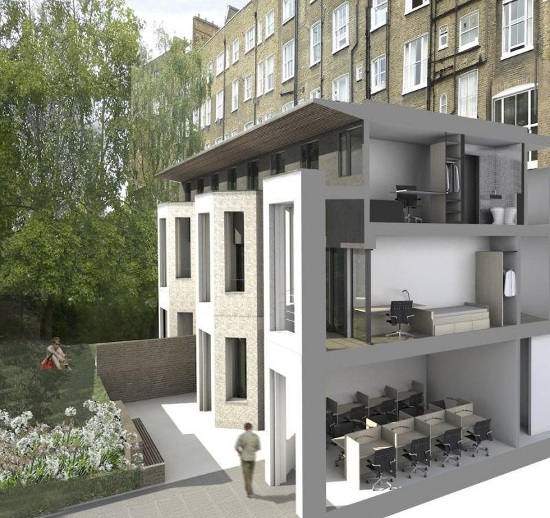 Abbey Court Apartments: CaSA, Lee Abbey, London, Multiple Residence Community